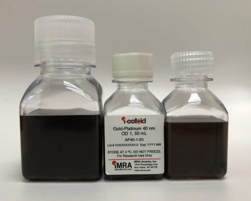 AuPt40 bottles